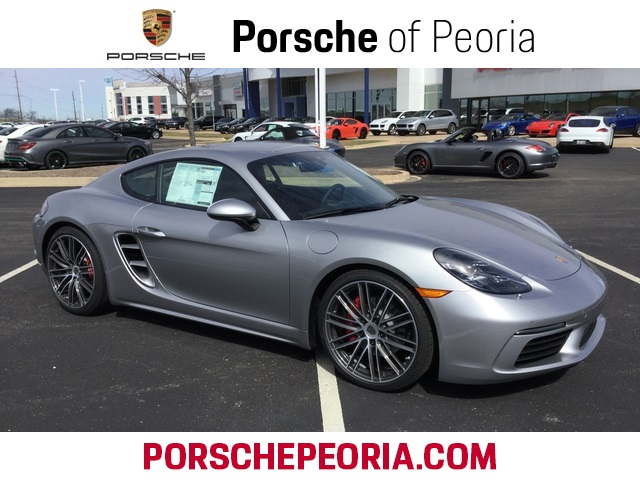 Pre Owned 2017 Porsche 718 Cayman S